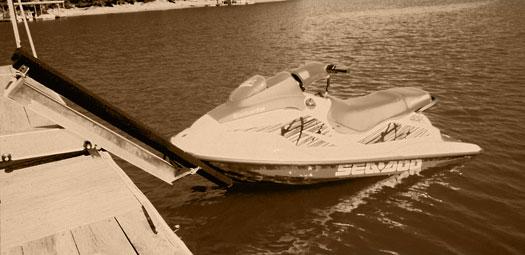 Jet Rail Sunbum Boats