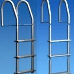 Stainless Steel 4 Step Removable Legs